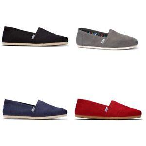 Toms Classic Alpargata Men Hatching shoe | slipper | Canvas - NEW