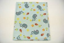 Baby Blanket Noah's Ark Whales Fish Can Be Personalized 36x40