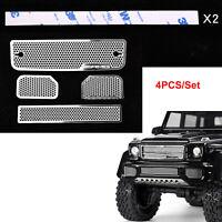 GRC Crawler Metal Side Plate Pedal Guard Black For Traxxas TRX-4 Ford #GAX0102BB