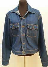 Vintage DENIM JEAN JACKET -- Dark Wash -- Women's Size L/XL