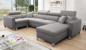 Brand New Corner Sofa Bed With Storage Loretto V