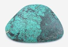 242.65 Carat Spiderweb Blue Turquoise Gemstone Gem Stone Cab Cabochon EBS2195