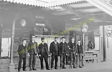 Towcester Railway Station Photo. Blisworth to Blakesley and Wappenham Lines. (8)