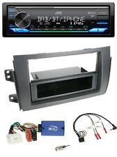 JVC Bluetooth USB Lenkrad DAB Autoradio für Fiat Sedici Suzuki SX4
