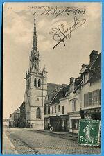 CPA: CONCHES - Eglise Saint-Foy, Clocher / 1908