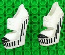 Monster High Shoes Operetta Dance Class Black & White Piano Keys