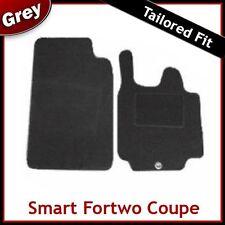 SMART FORTWO COUPE (57) 2007 2008 2009 2010... 2012 MOQUETTE SU MISURA tappetini AUTO Grigio