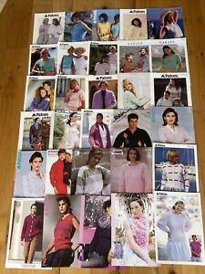 Job Lot Of 30 New Adults Knitting Patterns