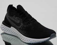 3f2acc1c677e Nike Epic React Flyknit Size 11.5 Black Black Dark Grey Aq0067 001 Ltd