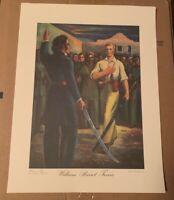 Alamo Heroes Art Prints: Texas Travis Crockett Bowie Darst Hunter DeYoung Becker