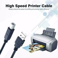 USB 2.0 Scanner Wire Printer Cable Type A Male To B Male New quality Black U8V7