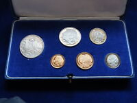 Australia.  1966 PROOF SET..   6 Coins in Light Blue Case..