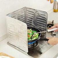 Creative Kitchen Stove Foil Plate Oil Splash Anti Splatter Shield Kitchen Tool