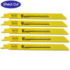 "5 x 230mm 9"" Reciprocating Sabre Saw Blades for  Bosch Dewalt, Makita and more"