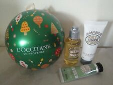 L'Occitane Gift Set Almond Green Boule Christmas Ornament - Limited Edition