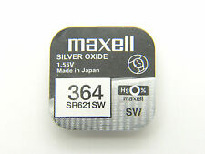 1x Maxell 0% Mercury 364 - SR621SW