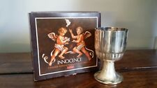 Vintage Silver Plated Goblet for Children Boxed (Christening Gift Cherubs Cup)