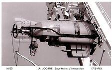 Sous-Marins LA LICORNE,1983, sous-marin d'intervention., Marius Bar