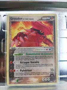 carte Pokémon groudon team magma très rare