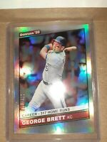 2020 Donruss George Brett RETRO /317 Career Stat Line #229 KANSAS CITY Royals