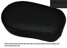 BLACK DS ST CUSTOM FITS YAMAHA XVS 650 CLASSIC V STAR LEATHER REAR SEAT COVER