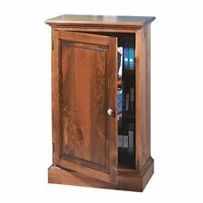 Traditional Video Storage Cabinet Unfinished Pine Wood| Renovator's Supply
