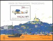 Macau 1989 de Havilland/Aircraft/Planes/Aviation/Transport/Boat 1v m/s (n23040)