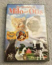 The Adventures of Milo and Otis (1986) - DVD Movie - Family / Adventure - NEW
