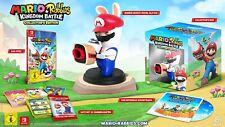 Mario + Rabbids Reino batalla Collector's Ed Nintendo Switch video juego UK