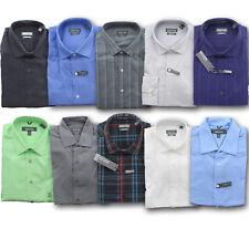 Kenneth Cole Dress Shirt Men's Reaction Wrinkle Free Regular Fit