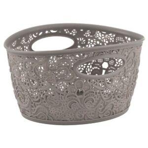 Curver Victoria Decorative Basket with handles in Beige
