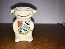 CRESTED CHINA BILLIKEN - ARMS OF - KETTERING - WILLOW ART CHINA
