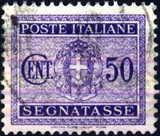 ITALIA - Regno - 1934 - Segnatasse - Stemma con fasci - Fascio littorio - 50 c.
