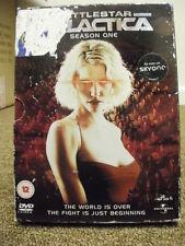 DVD TV BOXSET * BATTLESTAR GALACTICA SEASON ONE * SERIES 1 * TELEVISION DVD *