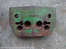 John Deere 1010 T19106T front starter weight late part number