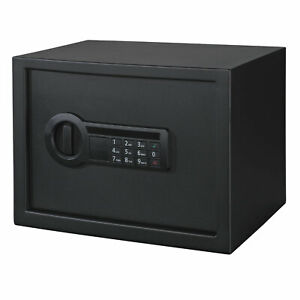 Stack On Home Electronic Combination/Biometric Personal Safe Lock Box, Medium
