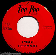 SERTIFIED SOUND-Everyday+Love Is Strange-Mega Rare Wisconsin Garage 45-TEE PEE