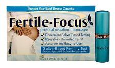 Fairhaven Health Fertile Focus Saliva Ovulation Predictor Personal Monitor Test