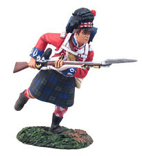 W Britain Napoleonic 36043 British 42nd Black Watch Highlander Charging No. 1