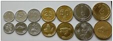 MALDIVES 7 COINS HIGH GRADE SET WITH ANIMALS SHIPS & SHELLS - VERY NICE