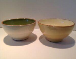 "TWO (2) Vietri CUCINA FRESCA 6"" Bowls Cereal Soup Dessert"