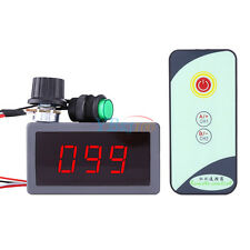 6V 12V 24V PWM DC Motor Speed Regulator LED Display IR Remote Controller 5A NEW