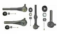 For Chevy Blazer K10 K20 V10 Suburban Moog Front Inner & Outer Tie Rod End KIT
