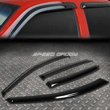 FOR 98-04 AUDI A6 WAGON SMOKE TINT WINDOW VISOR/WIND DEFLECTOR VENT RAIN GUARD
