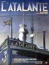Affiche 120x160cm L'ATALANTE 1934 Jean Vigo - Michel Simon, Jean Dasté - R NEUVE