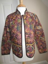 BLAZER - Christopher & Banks - Browns - Reversible - Sz S - NWT