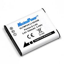 Camera Battery For OLYMPUS LI-50B Stylus 1010 u1010  1020 u1020 1030SW u1030SW