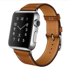 Genuine Leather Band Strap Bracelet Watchband For Apple Watch iWatch 38/42mm New