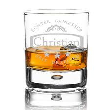 Personalisiertes Whiskyglas inkl. Gravur Ornament und Sterne