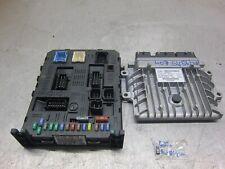 Peugeot 407 2.0 HDI Diesel ECU BSI Kit 9663548180 9663556280